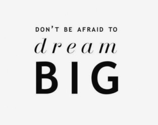 Image result for dream big anyway